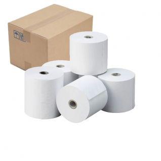 Caja Papel Térmico 80x80 (pack 48 rollos)